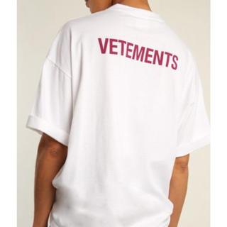 新品 VETEMENTS ヴェトモン 18SS Tシャツ OFF-WHITE(Tシャツ/カットソー(半袖/袖なし))