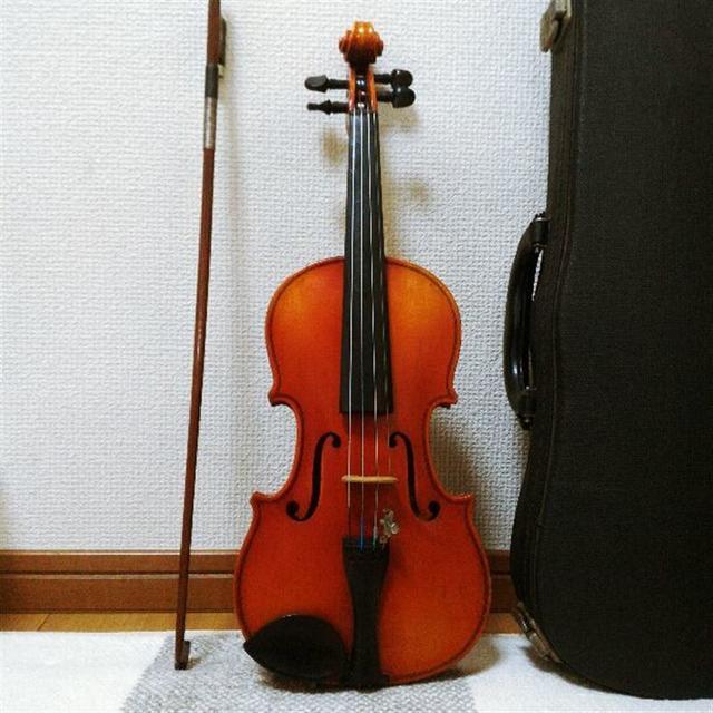 【高級証明ラベル有】鈴木バイオリン No.300 1/8 1983 楽器の弦楽器(ヴァイオリン)の商品写真