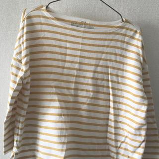 ムジルシリョウヒン(MUJI (無印良品))のオーガニックコットン太番手ドロップショルダー(Tシャツ(長袖/七分))