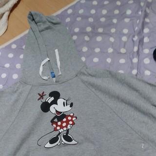 ディズニー(Disney)のミニー ポンチョ フードつき スウェット (ポンチョ)