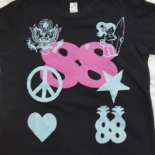 90㎝ 88TEES Tシャツ ブラック