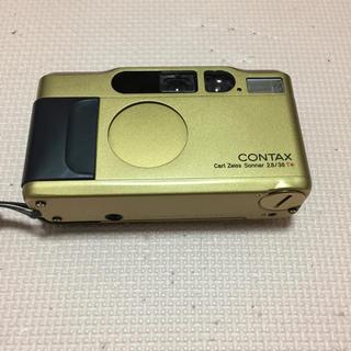 キョウセラ(京セラ)のコンタックスT2  ゴールドCONTAX(フィルムカメラ)