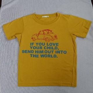 ジーユー(GU)のTシャツ 120cm GU マスタード(Tシャツ/カットソー)