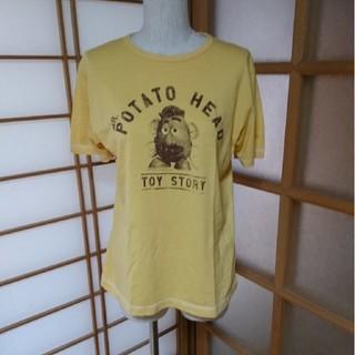 トイストーリー(トイ・ストーリー)の[UNIQLO][トイ・ストーリー]ミスターポテトヘッドTシャツ[イエロー](Tシャツ(半袖/袖なし))