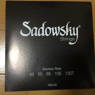 ベース弦 Sadowsky Stainless steel -SBS45B(弦)