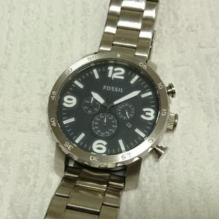 フォッシル(FOSSIL)の【ジャンク】FOSSIL クロノグラフ腕時計(腕時計(アナログ))