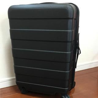 ムジルシリョウヒン(MUJI (無印良品))の無印良品  ハードキャリー(35L)ブラック(スーツケース/キャリーバッグ)
