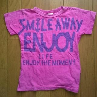 ブリーズ(BREEZE)のBREEZE JUNKSTORE 半袖Tシャツ 120 ピンク(Tシャツ/カットソー)