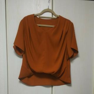 クードシャンス(COUP DE CHANCE)のクードシャンス エリザサテンシャツ(シャツ/ブラウス(半袖/袖なし))