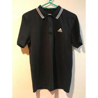 アディダス(adidas)のadidas ポロシャツ 黒(ポロシャツ)