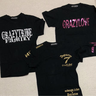 クレイジートライブ(CRAZY TRIBE)のcrazy trive Tシャツ(Tシャツ/カットソー(半袖/袖なし))