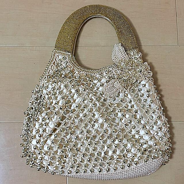 NOJESS(ノジェス)の【ほぼ新品】NOJESS ノジェス パーティーバッグ  レディースのバッグ(ハンドバッグ)の商品写真