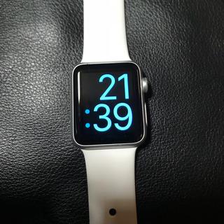 アップルウォッチ(Apple Watch)のApple Watch 38mm (スマートフォン本体)
