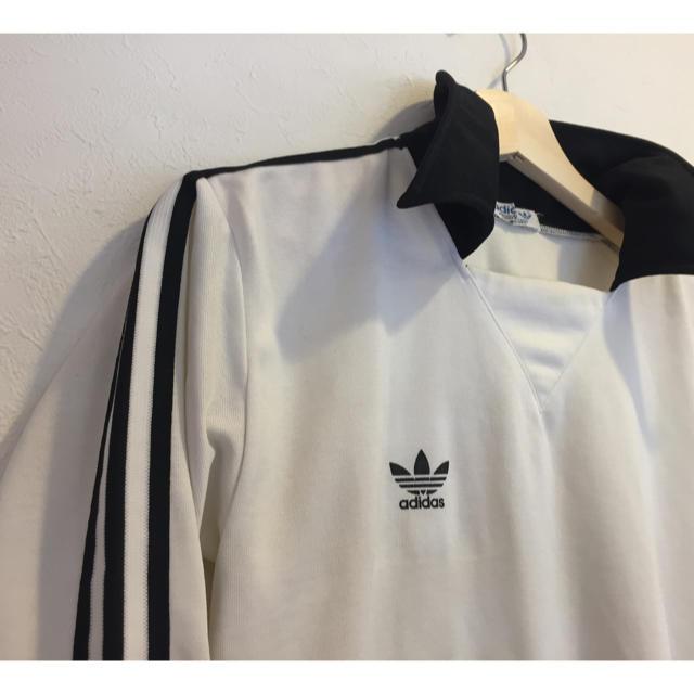 adidas(アディダス)の80s adidas originalsトラックジャケット  メンズのトップス(Tシャツ/カットソー(七分/長袖))の商品写真