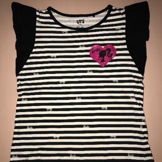 バービー(Barbie)のバービー&UNIQLOコラボTシャツ(Tシャツ/カットソー)