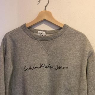 カルバンクライン(Calvin Klein)のカルバンクライン 90s ヴィンテージ 筆記体 スウェット  サイズM(スウェット)