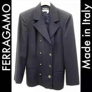 ジャンニヴェルサーチ(Gianni Versace)の希少品 フェラガモ 高級 ダブルジャケット(テーラードジャケット)