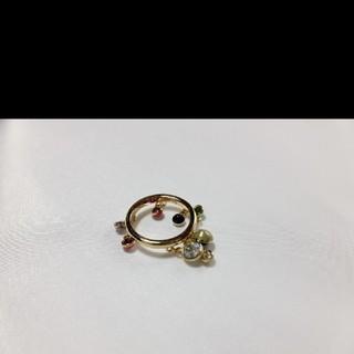 スワロフスキー(SWAROVSKI)のサイズ約17号 未使用品 スワロフスキー チャームリング (リング(指輪))