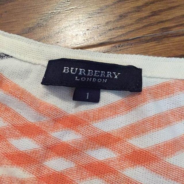BURBERRY(バーバリー)のBurberry 綿100% 半袖トップス かわいい♡ レディースのトップス(その他)の商品写真