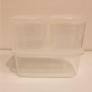 ムジルシリョウヒン(MUJI (無印良品))の■無印良品 保存容器 フタをしたまま電子レンジで使える バルブ付き密閉保存容器■(容器)