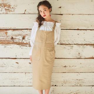 シェリーモナ(Cherie Mona)のcherie mona ジャンパースカート(ひざ丈ワンピース)