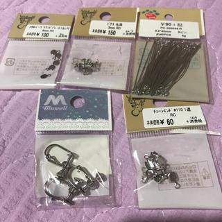 キワセイサクジョ(貴和製作所)のハンドメイド材料とビーズ(各種パーツ)