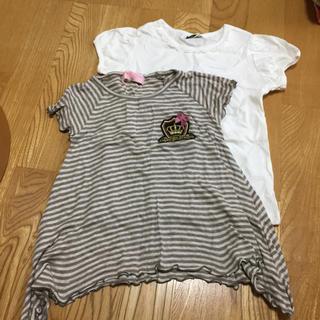 シマムラ(しまむら)のTシャツ 2点セット 110センチ(Tシャツ/カットソー)