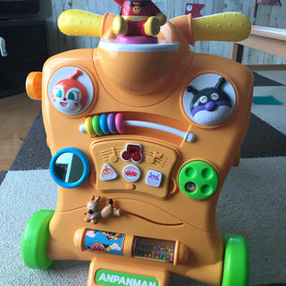 アガツマ(Agatsuma)のアンパンマン  乗って!押して!へんしんウォーカー おまけ付き(知育玩具)