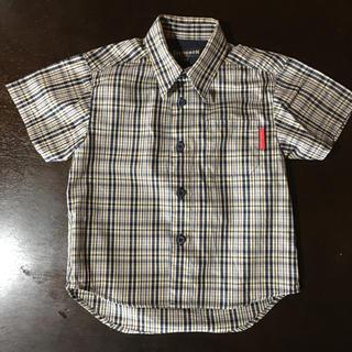 シェビニオン(CHEVIGNON)のCHEVIGNONチェックシャツ 100(その他)