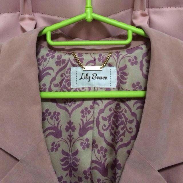 Lily Brown(リリーブラウン)の新品★テーラードジャケット レディースのジャケット/アウター(テーラードジャケット)の商品写真