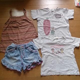 ギャップ(GAP)のブランド130センチ女の子4点セット(Tシャツ/カットソー)