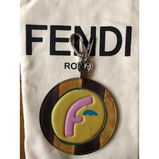 フェンディ(FENDI)の阪急購入国内正規 新品 フェンディ レザーチャーム fendi(キーホルダー)