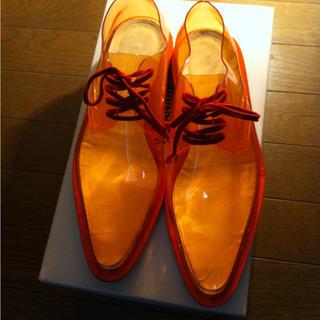 コムデギャルソン(COMME des GARCONS)のコムデギャルソン▲スケルトンシューズ▷(ローファー/革靴)