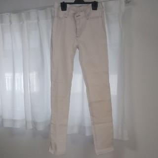ムジルシリョウヒン(MUJI (無印良品))の無印良品 白パンツ サイズ64-89(デニム/ジーンズ)