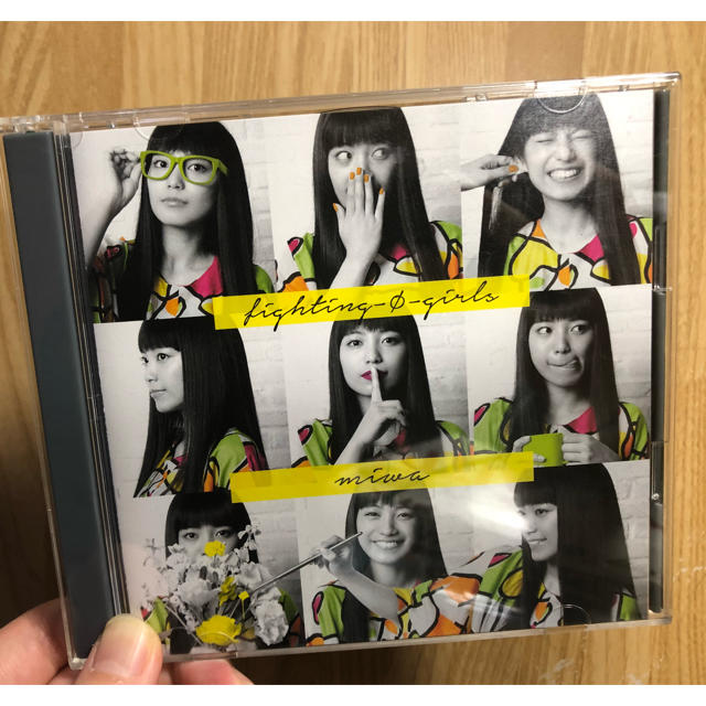 初回限定盤 fighting-Φ-girls の...