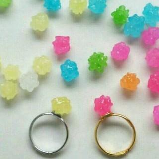 [再販]300円♡金平糖のピンキーリング(リング(指輪))
