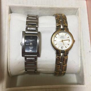 アンクラーク(ANNE CLARK)のアンクライン 腕時計 レディース  二本セット(腕時計)