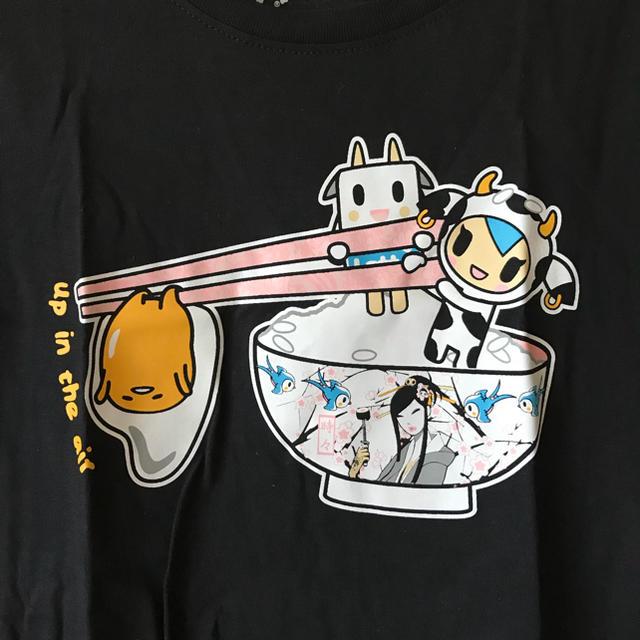 サンリオ(サンリオ)のtokidoki × ぐでたま カワイイTシャツ sizeM レディースのトップス(Tシャツ(半袖/袖なし))の商品写真