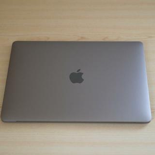 マック(Mac (Apple))の2018年4月購入 Macbook pro 13インチ スペースグレイ(ノートPC)