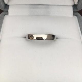 ショーメ(CHAUMET)のCHAUMET ショーメ プリュム リング Pt950 3.5mm 5.4g(リング(指輪))