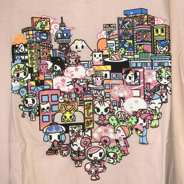 tokidoki カワイイharajuku Tシャツ sizeS レディースのトップス(Tシャツ(半袖/袖なし))の商品写真