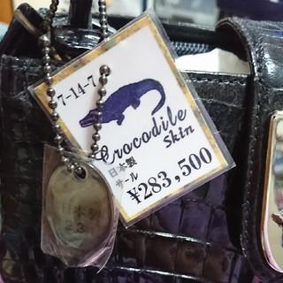 アンドレアロッシ(Andrea Rossi)のアンドレア ロッシのクロコダイルのバッグです(о´∀`о)(ショルダーバッグ)