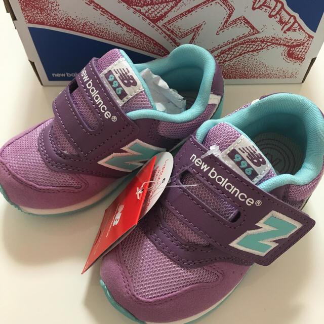 New Balance(ニューバランス)のニューバランス 14.5センチ 新品未使用 キッズ/ベビー/マタニティのキッズ靴/シューズ(15cm~)(スニーカー)の商品写真