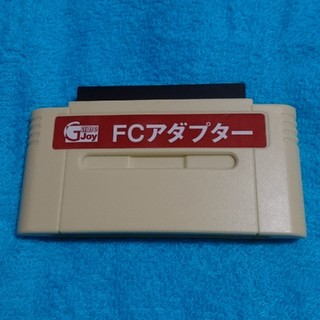 スーパーファミコン(スーパーファミコン)のSFC【FCアダプター(ポケファミDX 推奨)】(その他)