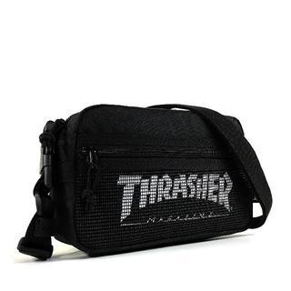 スラッシャー(THRASHER)の【THRASHER】2Wayミニショルダー[BK/WH(メッシュ)](ショルダーバッグ)