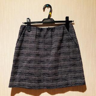エディットフォールル(EDIT.FOR LULU)のedit for lulu ツィードスカート ienaイエナスピックアンドスパン(ミニスカート)