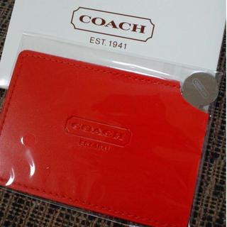 990a0b99fc61 COACH - COACHカード型ミラー 送料込の通販 by my shop|コーチならラクマ