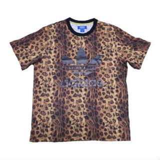 アディダス(adidas)のadidas(アディダス) 豹柄Tシャツ(Tシャツ/カットソー(半袖/袖なし))