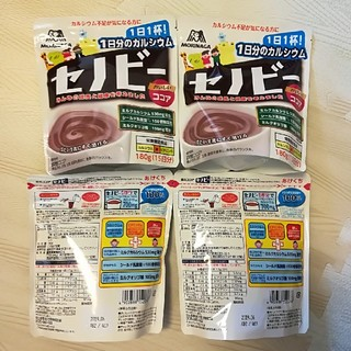 モリナガセイカ(森永製菓)の森永 セノビー 180g ×4袋セット  賞味期限2019.6 (その他)