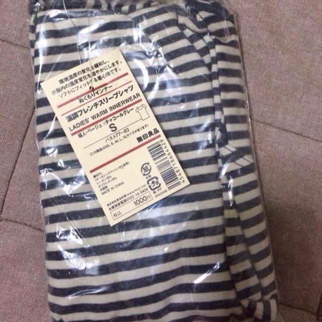 MUJI (無印良品)(ムジルシリョウヒン)の新品 無印ぬくもりインナー レディースのトップス(Tシャツ(半袖/袖なし))の商品写真